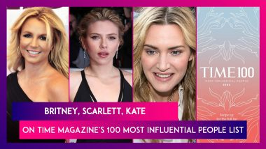 Britney Spears, Scarlett Johansson, Kate Winslet Make It To The TIME Magazine's 100 Most Influential People List