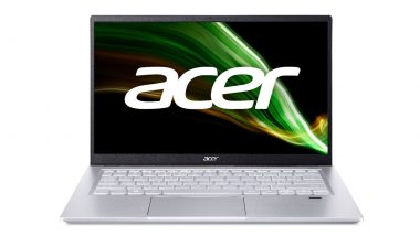 Acer Swift X Laptop Launched in India Starting at Rs 84,999