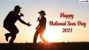 National Sons Day 2021 Greetings & HD Images: WhatsApp Status Video, Quotes, Facebook Messages and SMS to Wish Happy Son's Day