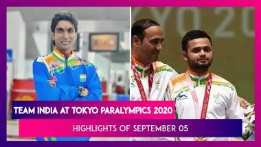 Team India At Tokyo Paralympics 2020: Highlights And Results Of September 05