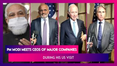 PM Modi's US Visit: CEOs Of Adobe, Blackstone, First Solar And Others Have One-On-One Talks