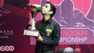 Pankaj Advani Wins Second Successive Asian Snooker Championship Title