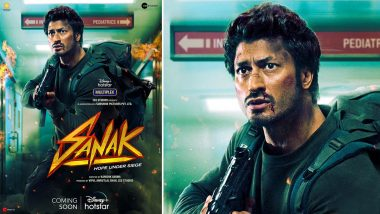 Sanak: Vidyut Jammwal's Action-Thriller Film To Release on Disney+ Hotstar Soon!