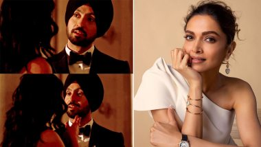 Diljit Dosanjh's 'Lover' is Deepika Padukone's Current Favourite Song; Actress Reveals in Q & A Session (Watch Video)