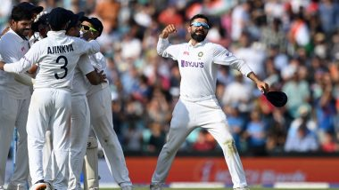 India Win by 157 Runs: Cricket Fraternity Shower Praises on Virat Kohli's Team Following Epic Win Against England at the Oval