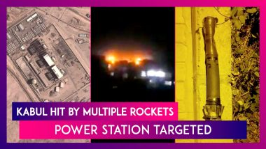 Kabul Hit By Multiple Rockets, Power Station Targeted