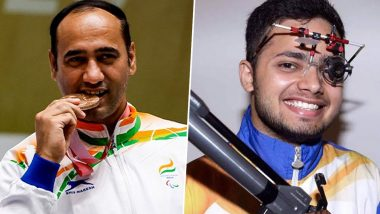 Manish Narwal To Get Rs 6 Crore, Singhraj Adhana To Get Rs 4 Crore As Reward From Haryana Govt for Winning Gold and Silver Medals at Tokyo Paralympics 2020