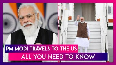 PM Modi Travels To The US: Know Schedule, Meetings, Bilateral Talks, And UNGA Speech Date