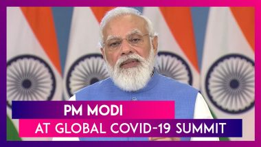 PM Modi Speaks At Global Covid-19 Summit, Calls For Mutual Recognition Of Vaccine Certificate