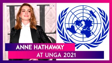 Anne Hathaway At UNGA 2021: Taliban Show How Quickly Progress Towards Gender Equality Can Be Reversed