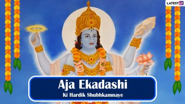 Aja Ekadashi 2021 Wishes in Hindi, Images & HD Wallpapers: Lord Vishnu & Goddess Lakshmi Pics, WhatsApp Stickers, Telegram Greetings and  Quotes to Celebrate the Auspicious Day
