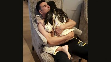 Akshay Kumar Wishes Daughter Nitara on Her 9th Birthday With a Cuddly Post! (View Pic)