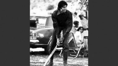 Amitabh Bachchan Shares Priceless Throwback Pic Playing Cricket in Kashmir from Mr Natwarlal Sets