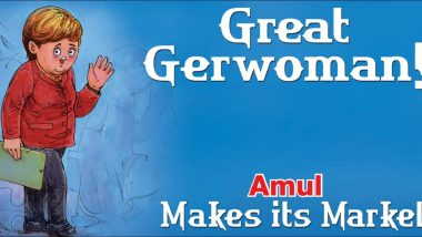 Amul Releases New Topical Featuring Angela Merkel After Her Retirement From the Post of German Chancellor (See Pic)