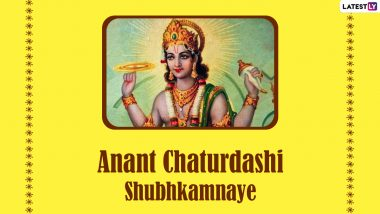 Lord Vishnu Photos, Messages and Wishes for Anant Chaturdashi 2021