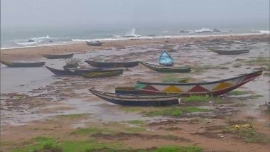 Cyclone Gulab: 2 Fishermen from Andhra Pradesh's Srikakulam Dead, One Missing After Boat Capsizes in Bay of Bengal