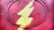 Andy Muschietti Teases New Photo of the Flash Logo With a Batman Twist!