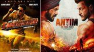 Antim: Salman Khan's Film to Release in Diwali 2021 and Clash With Akshay Kumar's Sooryavanshi - Reports