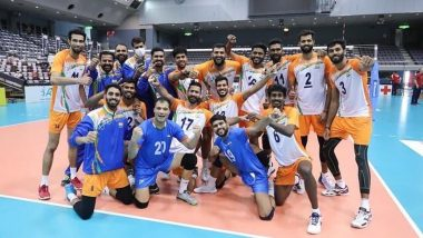 India Beat Kuwait to Clinch First Win at Asian Volleyball Championship 2021 in Japan