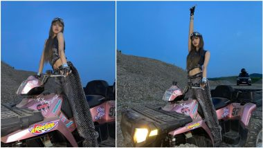 BLACKPINK's Lisa Oozes Swagger Posing on ATV in These Photoshoot Pics From LALISA MV!