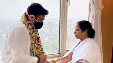 Babul Supriyo Meets West Bengal CM Mamata Banerjee After Joining TMC, Tweets New Profile Pic With Party Chief