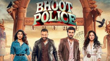 Bhoot Police Full Movie in HD Leaked on TamilRockers & Telegram Channels for Free Download and Watch Online; Saif Ali Khan, Arjun Kapoor, Jacqueline Fernandez's Film Is the Latest Victim of Piracy?