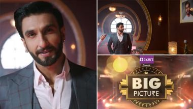 The Big Picture: Ranveer Singh Shares a New Promo of His TV Debut Show, Hints About Finally Revealing All the Deets Soon