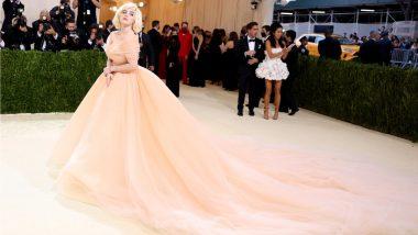Met Gala 2021: Billie Eilish Channelises Her Inner Marilyn Monroe in Custom Oscar De La Renta Gown (View Pics)