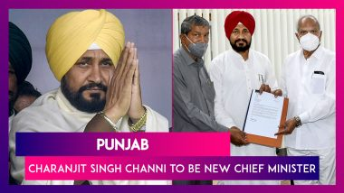 Punjab: Charanjit Singh Channi Is New Chief Minister After Amarinder Singh Resigns Citing 'Humiliation'