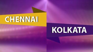 CSK 168/6 in 19 Overs (Target 172) | CSK vs KKR Live Score Updates of VIVO IPL 2021: Ravindra Jadeja Swings Game in Favour of Chennai