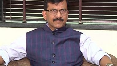 Mahant Narendra Giri Death: Uttar Pradesh Govt Will Have To Answer for the Death of Akhil Bharatiya Akhada Parishad's President, Says Sanjay Raut