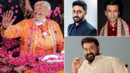 Narendra Modi Birthday: Mohanlal, Karan Johar, Abhishek Bachchan and Other Celebs Wish the Country's PM With Heartfelt Messages!