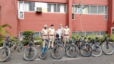 Chandigarh Man Held for Stealing 19 High-End Bicycles of Morning Walkers from Parks