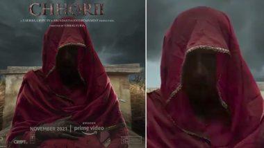 Chhorii: Nushrratt Bharuccha's Horror Film to Release on Amazon Prime Video This November; Chilling Motion Poster Out!