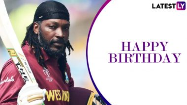 Happy Birthday Chris Gayle: Punjab Kings, Yuvraj Singh and Kevin Pietersen Among the Others Shower Wishes for the West Indies Star