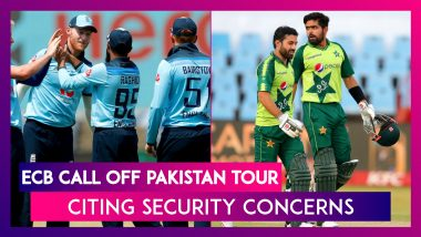 After New Zealand, England Cricket Board Call Off Pakistan Tour Citing Security Concerns