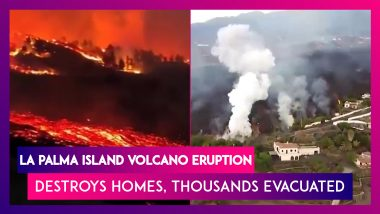 Spain: La Palma Island Volcano Eruption Destroys Homes, Thousands Evacuated