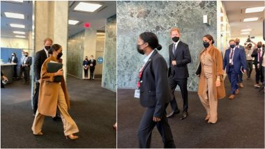 Prince Harry and Meghan Markle Visit UN During World Leaders' Meeting