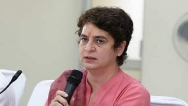 Priyanka Gandhi Detained on Her Way to Agra to Meet Family of Sanitation Worker Who Died in Police Custody