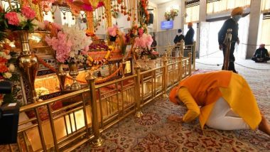 Guru Granth Sahib Parkash Purab 2021: PM Narendra Modi Extends Best Wishes, Says 'Sri Guru Granth Sahib's Principles Lay Emphasis on Compassion, Justice and Equality'