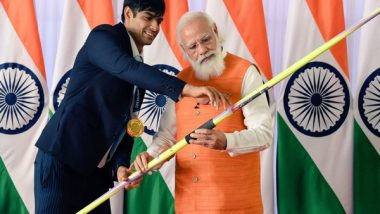 Neeraj Chopra's Tokyo Olympic Javelin, Hockey Stick Gifted by Women's Team Up for Grabs in E-Auction of PM Narendra Modi's Gifts, Mementos