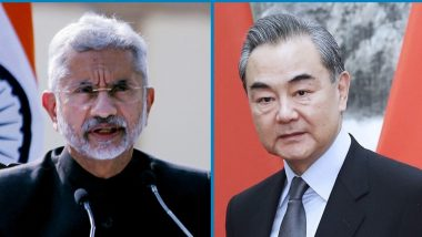 SCO Summit 2021: EAM Dr S Jaishankar Likely To Hold Discussions With Chinese Counterpart Wang Yi in Tajikistan