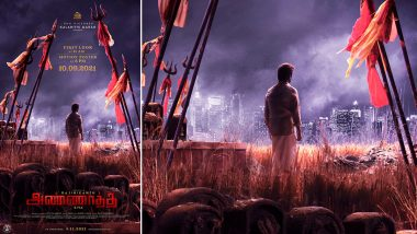 Annaatthe: First Look and Motion Poster of Superstar Rajinikanth's Film To Be Out on September 10, Check Out the Timings!