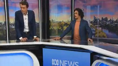 Earthquake in Melbourne Shakes News Breakfast Anchors During Broadcast, Watch Video