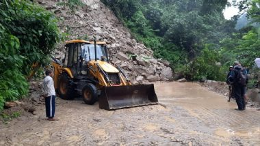 Landslides Due to Heavy Rains Cut Off Sikkim From Rest of India, Clearing Works On