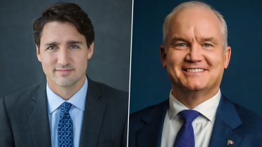 Canada Elections 2021: Canadians Vote to Elect 44th Parliament Today, Justin Trudeau Faces Strong Competition from Erin O'Toole; Know All About The Parliamentary Polls