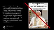 The New York Times Calls Out Viral Image of Fake NYT Front Page Praising Narendra Modi as 'Last, Best Hope of The Earth'