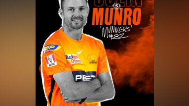 Sports News   Perth Scorchers Sign Colin Munro for Upcoming BBL