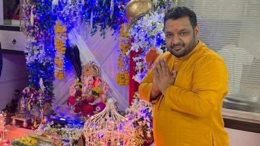 Fashion Designer Vikram Saraf Celebrates Ganesh Chaturthi Following the COVID-19 Protocols