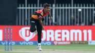 SRH vs RR, Dubai Weather, Rain Forecast and Pitch Report: Here's How Weather Will Behave for Sunrisers Hyderabad vs Rajasthan Royals IPL 2021 Clash at Dubai International Cricket Stadium